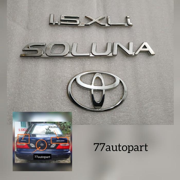 Foto Produk Emblem soluna set dari 77autopart