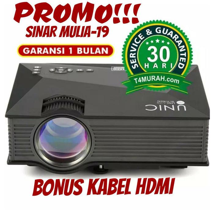 Jual Projektor Mini Unic Uc 46 Wi Fi Hd 1200 Lumens Number One Jakarta Timur Satin Rawa Tokopedia
