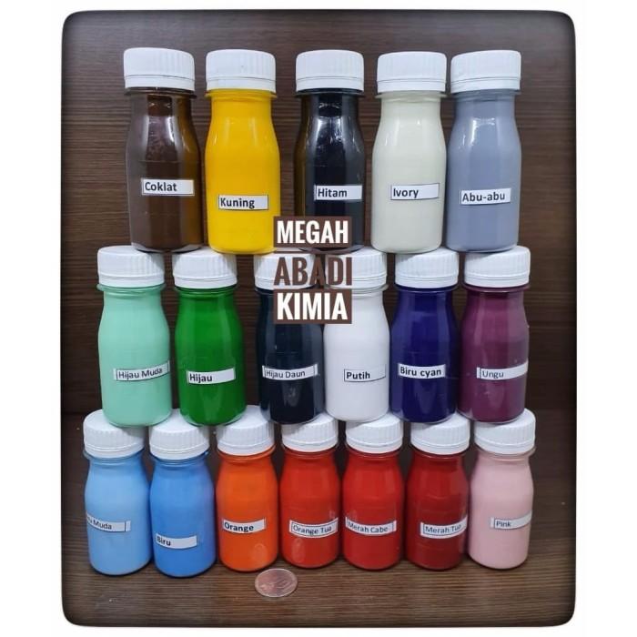 Foto Produk Pigment Pewarna Resin / Cat Resin / 45 Gram - Hijau Daun dari Megah Abadi Chem