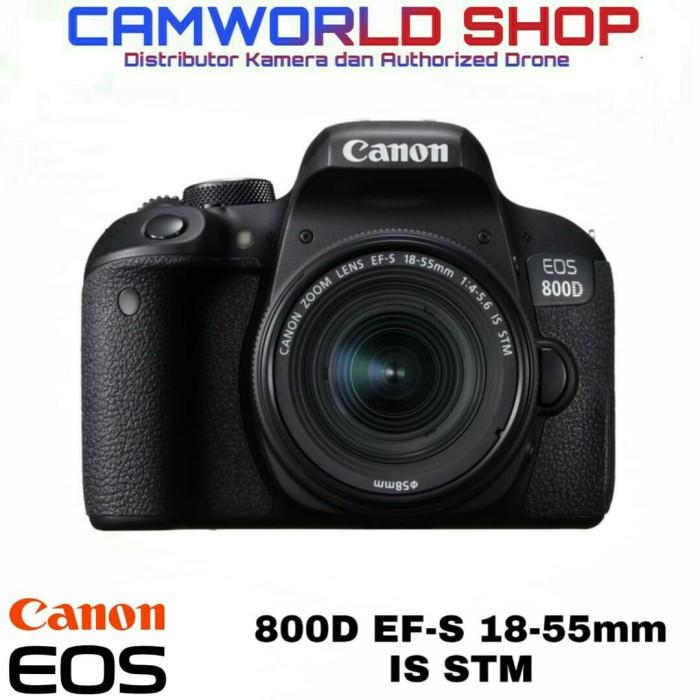 harga Canon eos 800d kit 18-55mm is stm wifi Tokopedia.com