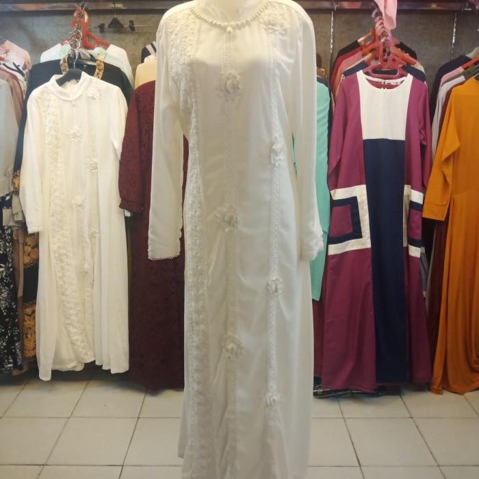 Jual Gamis Fashion Wanita Muslim Putih M Kota Medan Toko Nenek Tina Tokopedia