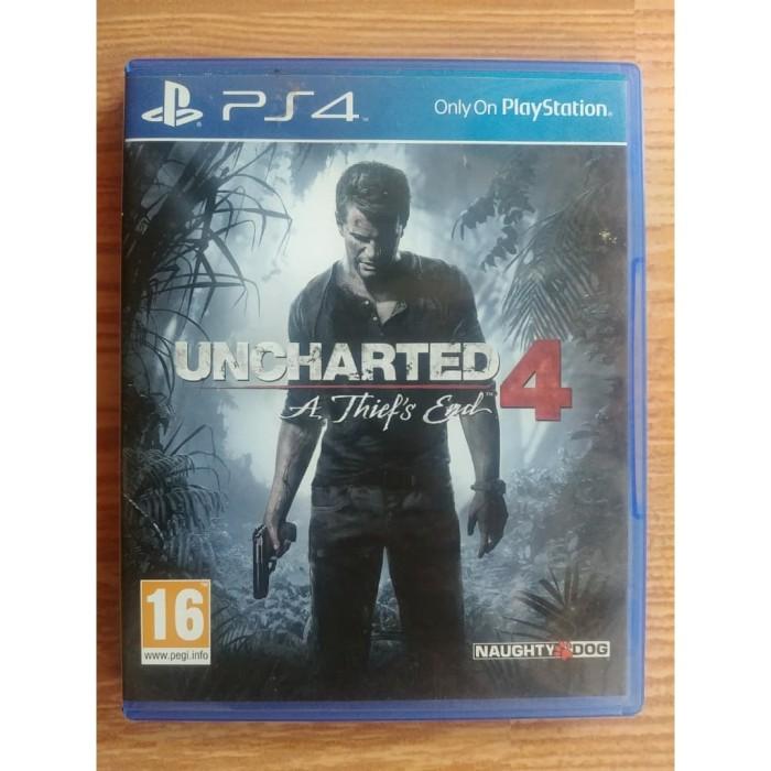 harga Bd ps4 uncharted 4 a thief's end Tokopedia.com