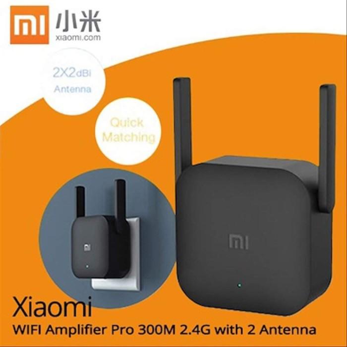 Foto Produk Xiaomi Wifi Extender Pro Repeater Amplifier 300Mbps with 2 Antenna R03 dari GADZILA STORE