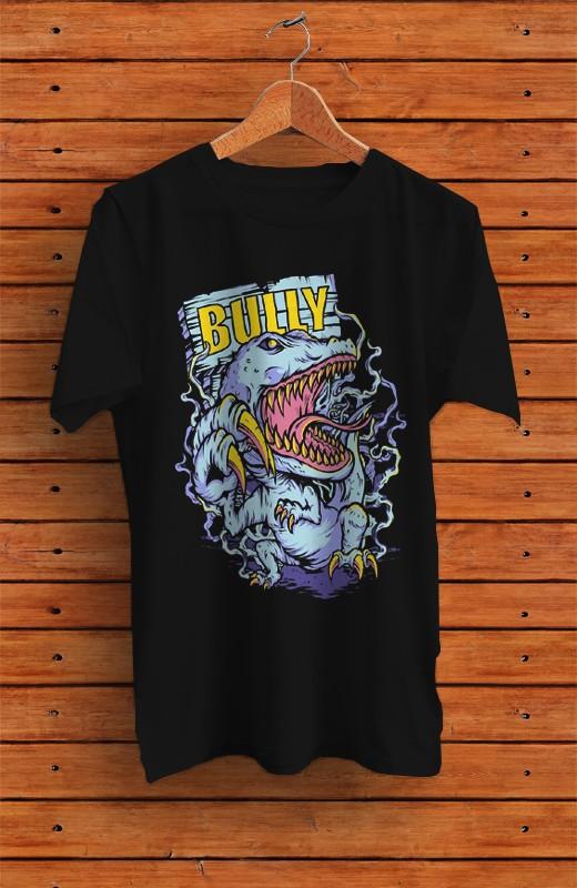Jual Kaos Distro Pria Bully Artwork Jakarta Barat Dganz Cloth Tokopedia