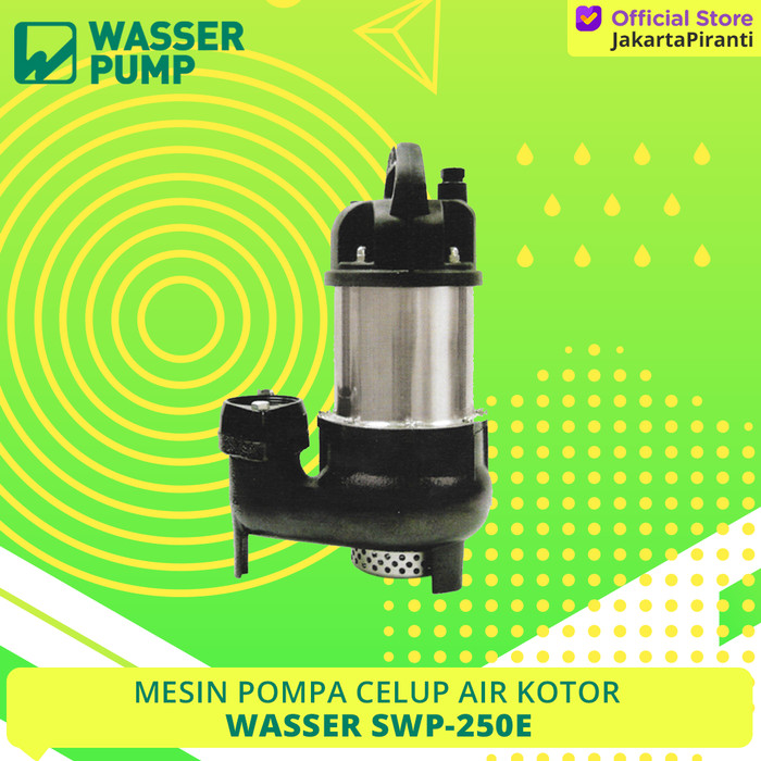 Jual Pompa Celup Air Kotor Wasser SWP 250 E - Jakarta ...