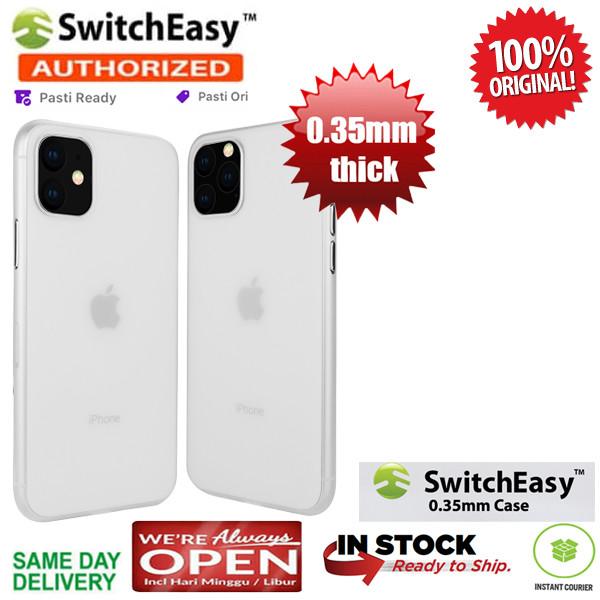 Foto Produk iPhone 11 / 11 Pro / 11 Pro Max Case Switcheasy Ultra Thin 0.35 mm - Clear, iPhone 11 dari Spigen Indonesia
