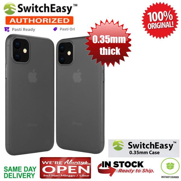 Foto Produk iPhone 11 / 11 Pro / 11 Pro Max Case Switcheasy Ultra Thin 0.35 mm - Black, iPhone 11ProMax dari Spigen Indonesia