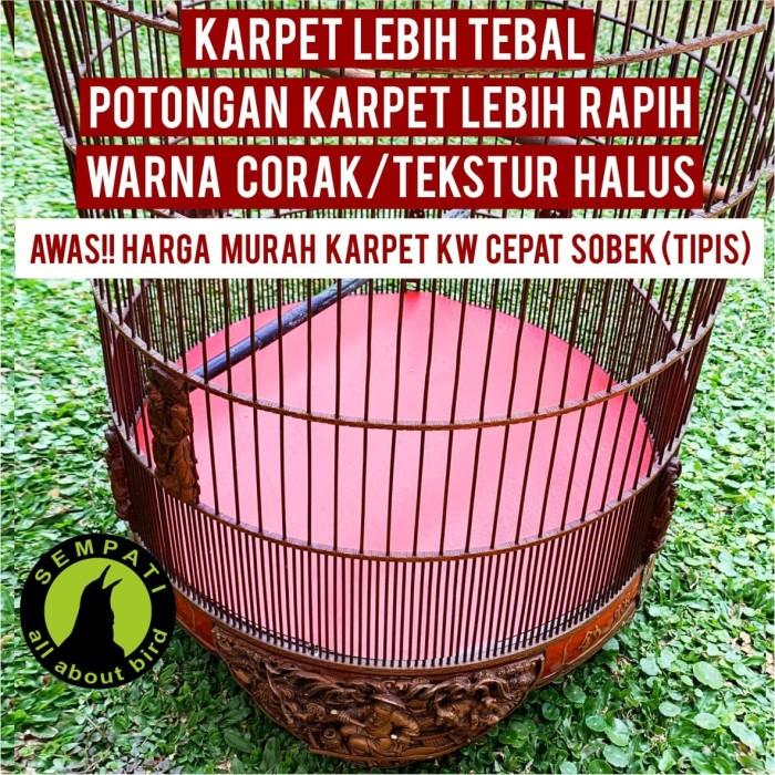 Foto Produk KARPET DASAR SANGKAR BURUNG MURAI NO.1,2,3 JALA dari Sempati Bird Shop