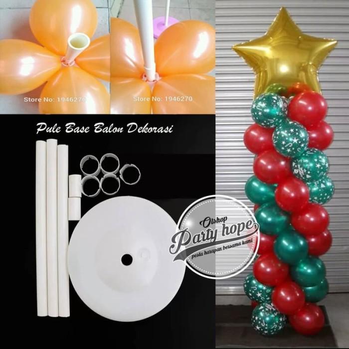 Foto Produk Standing Tiang Dekorasi Balon Foil dan Latex 90cm / Pule Base Balon dari PARTY HOPE 2