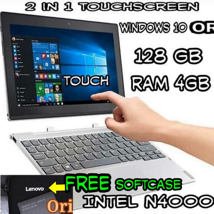 Lenovo D330-10igm Intel N4000 4gb 128gb 101 Windows 10 - Nb Tablet