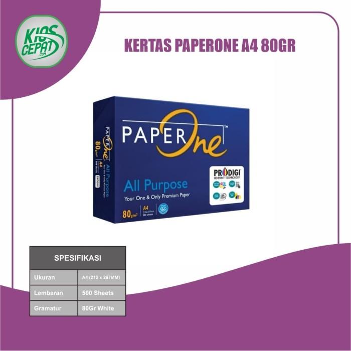 Foto Produk Kertas PaperOne A4 80gr (Kertas HVS) dari KiosCepat