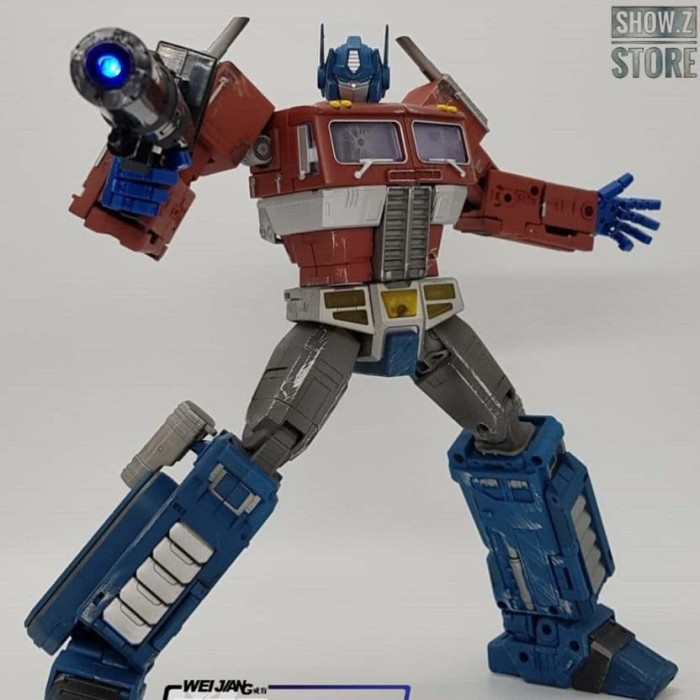 TAKARA TOMY  master MP 29 concussion wave G1 model with light box
