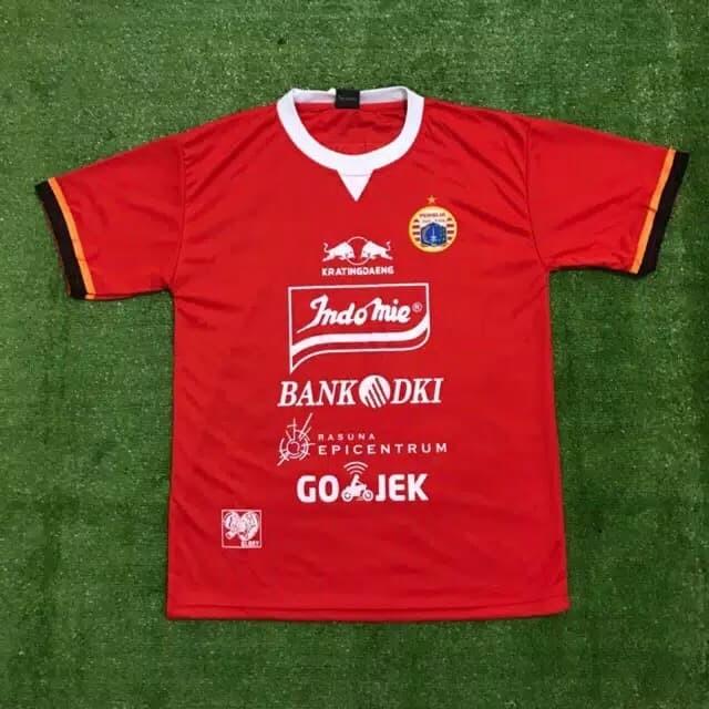 Foto Produk Baju Jersey PERSIJA JAKARTA Promo 2019 - Merah, L dari Top Seller Indonesia