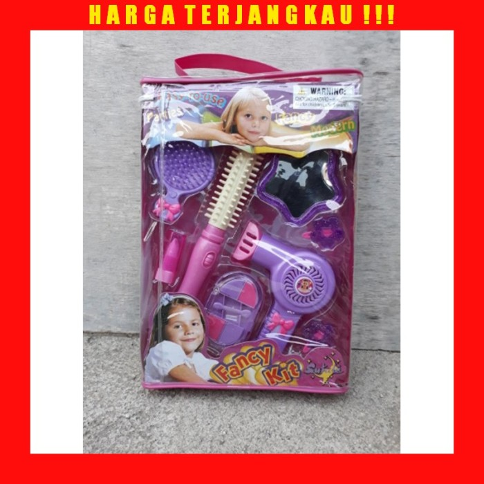 Jual Mainan Salon Make Up Anak Perempuan Edukasi Fancy Kit Cewek Edukatif Kota Bekasi Mangdolan Tokopedia