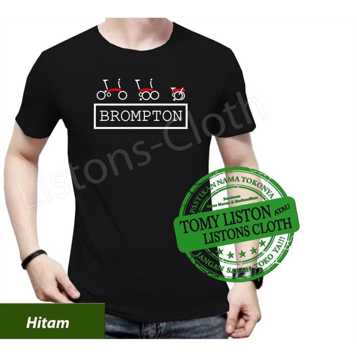 Foto Produk Kaos sepeda brompton baju bike distro dari Listons-cloth