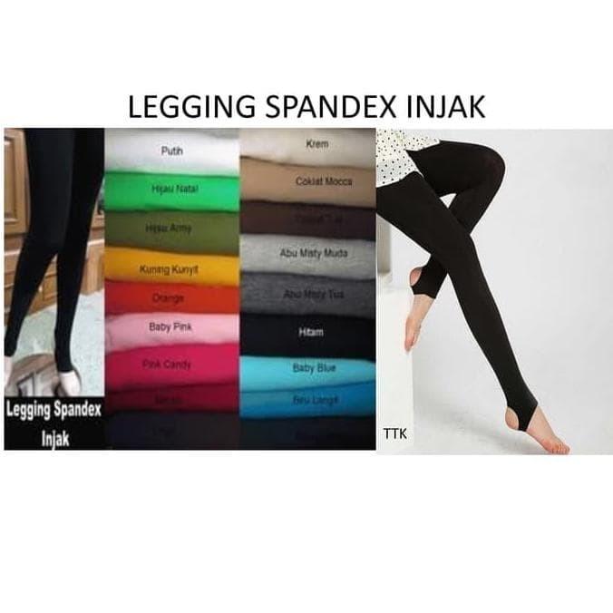 Jual Legging Injak Spandex Jakarta Barat Fakhri Halif Tokopedia