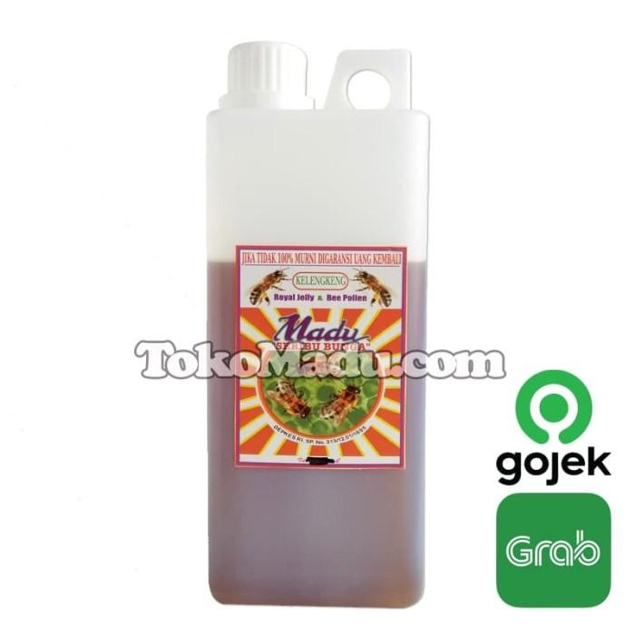 harga Madu kelengkeng royal jelly bee pollen - seribu bunga jerigen 1 kg Tokopedia.com