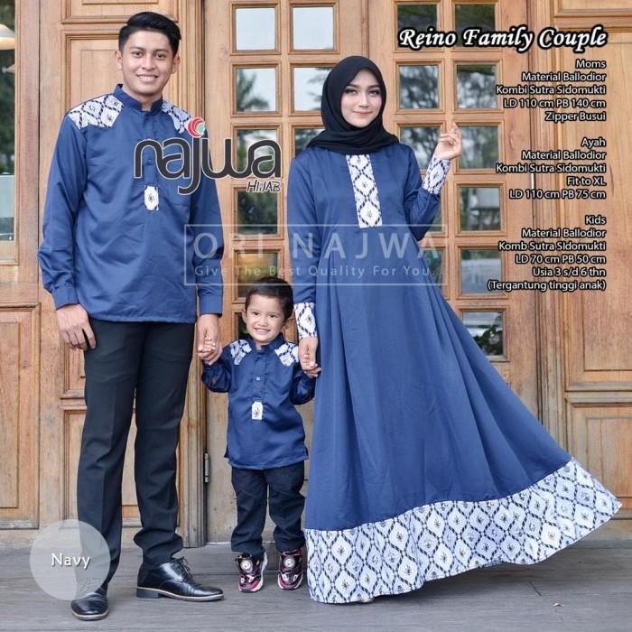 Jual Reino Fam Busana Muslim Family Ory Najwa Kota Surakarta Wardhanis Cloth Tokopedia