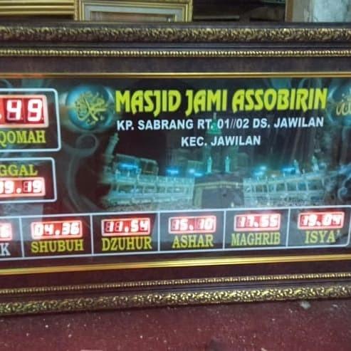 Jual Jam Digital Masjid Special Size Kota Bandung Adzan Watch