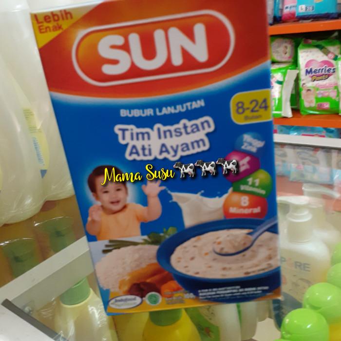 Jual Sun Tim Instan Ati Ayam 8 24 Bulan Bubur Bayi Ati Ayam