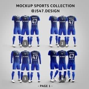 Download Jual Mockup Jersey - Mockup Bola - Mockup Olahraga - Isi 6 ...
