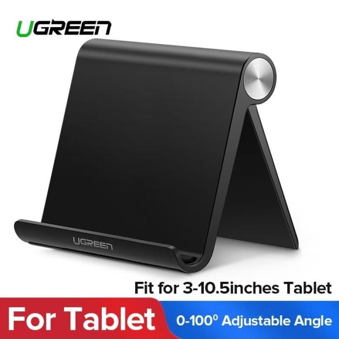 Foto Produk Ugreen Adjustable Portable Stand for Tablet or IPad Black-50748 - Putih dari Ugreen ID