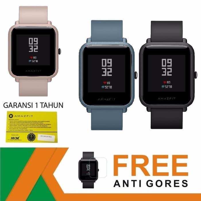 harga Jam xiaomi amazfit smart watch bip lite / bip 2 waterproof compass Tokopedia.com