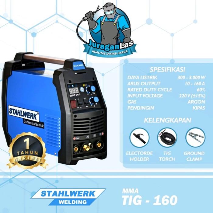 Jual Stahlwerk Dc Tig Mma Welding Machine Tig 160 Tools N Parts Kab Semarang Saalwastore Tokopedia