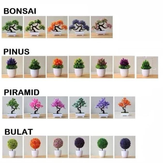Jual Tanaman Bunga Hias Murah Tanaman Plastik Dekorasi Rumah Piramid Jakarta Barat Cahyashop10 Tokopedia