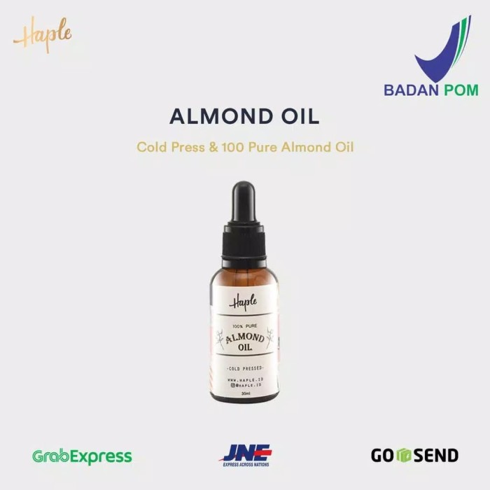 Foto Produk Haple Almond Serum Oil Origin Spain BPOM dari HAPLE ID