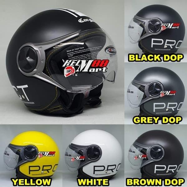 harga Cargloss yr helm retro halfface helm cargloss retro visor Tokopedia.com
