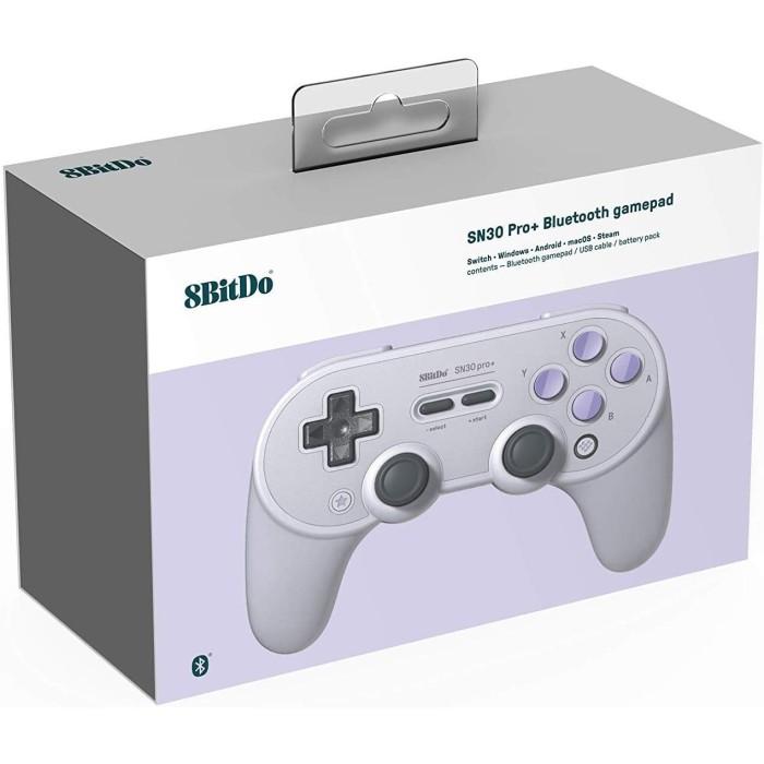 Foto Produk 8Bitdo N30 Pro+ Bluetooth Gamepad (SN Edition) (Switch/PC/Android/iOS) dari Drakuli HQ