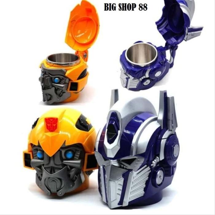 Optimus Prime Transformers Stainless Steel Coffee 3D Cup Mug