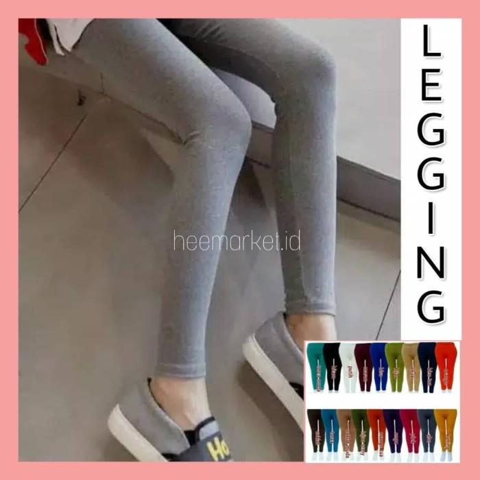 Jual Legging Licin Warna Biru L Kab Cirebon Heemarket Id Tokopedia