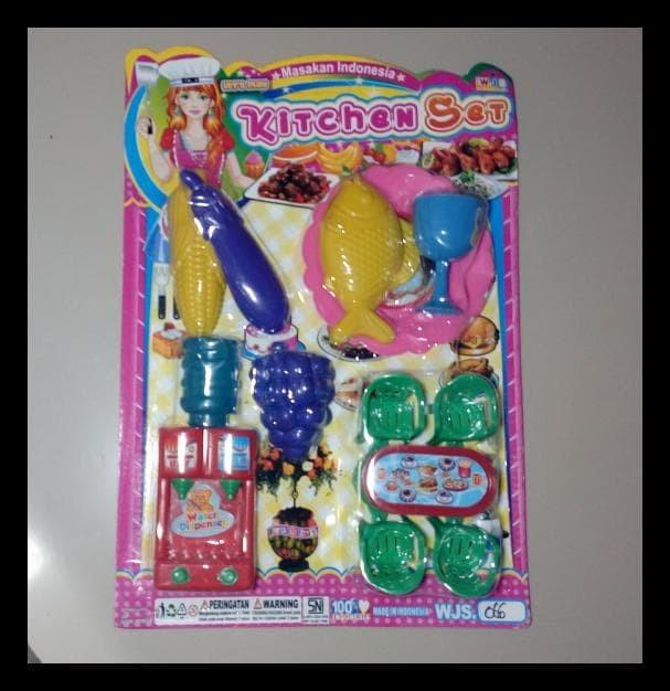 Jual Masak Masakan Perlengkapan Rumah Tangga Barbie Mainan Anak Perempuan Kota Bekasi Ericknam Tokopedia
