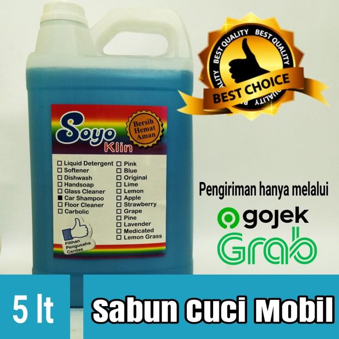 Jual Soyo Klin Sabun Cuci Mobil 5 Liter Car Shampoo Bersih Hemat Aman Jakarta Selatan Soyo Klin Tokopedia