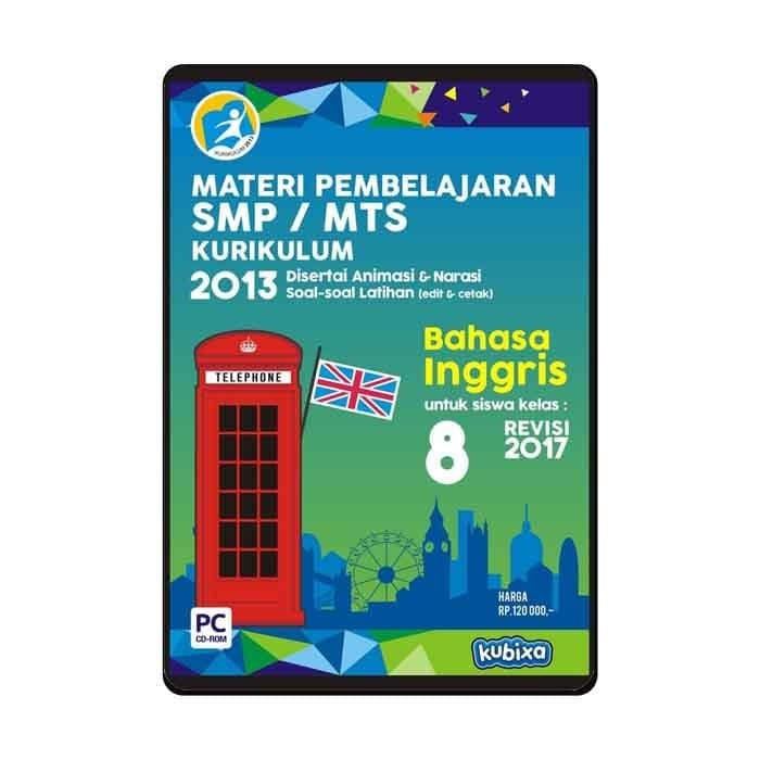 Foto Produk CD MATERI PEMBELAJARAN BAHASA INGGRIS - ENGLISH SMP-MTS KELAS 8 dari SMART EDUMEDIA