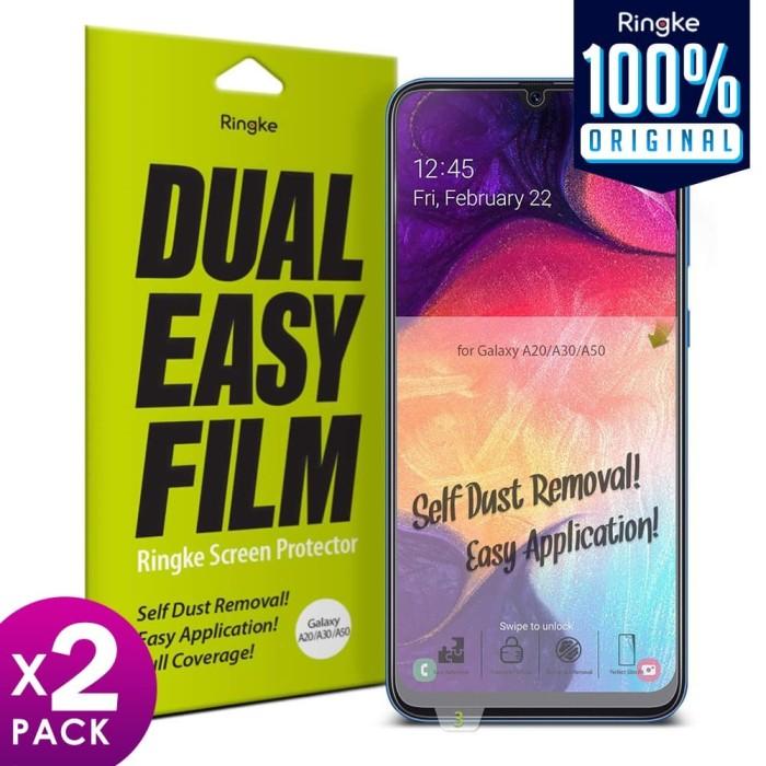 Foto Produk Screen Protector Galaxy A50s / A50 / A30 / A20 Ringke Dual Easy Full dari Unicase Store