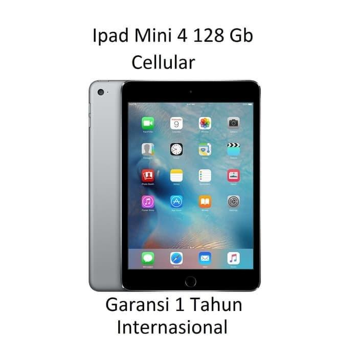 harga Ipad mini 4 128gb cellular grs internasional Tokopedia.com