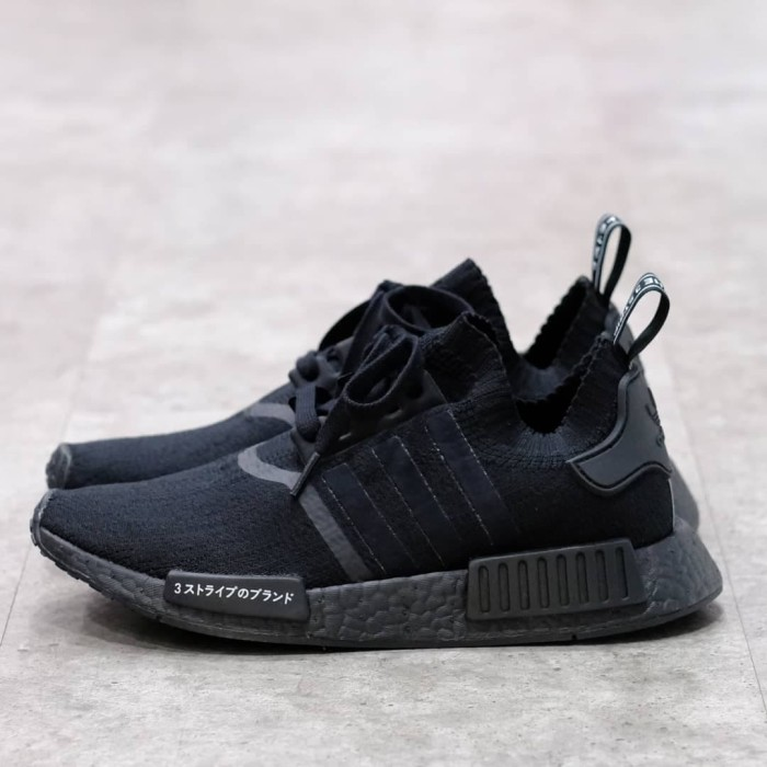 Reduction Nmd R1 Pk Japan Triple Black Off 77 Free Delivery