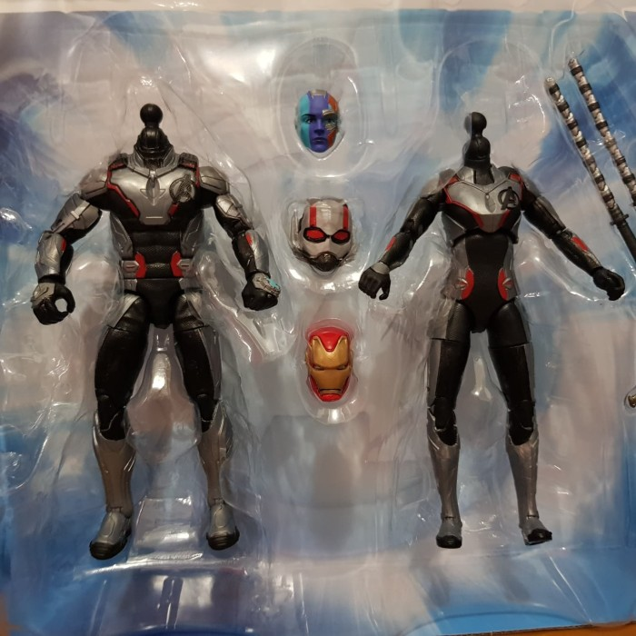 Marvel Legends Avengers Endgame Quantum Suit Male Body Ant-Man Loose