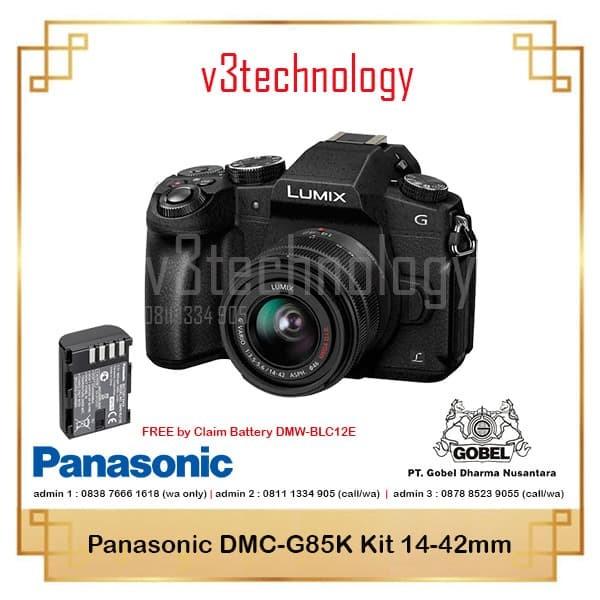 harga Panasonic lumix dmc-g85 kit 14-42mm f/3.5-5.6 ois Tokopedia.com