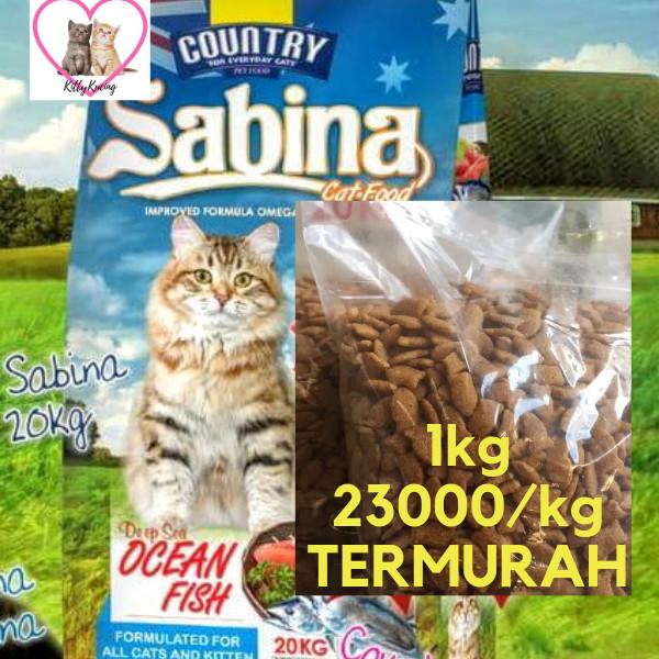 Jual Sabina 5kg Repack Makanan Kucing Kota Depok Kittykucing Tokopedia