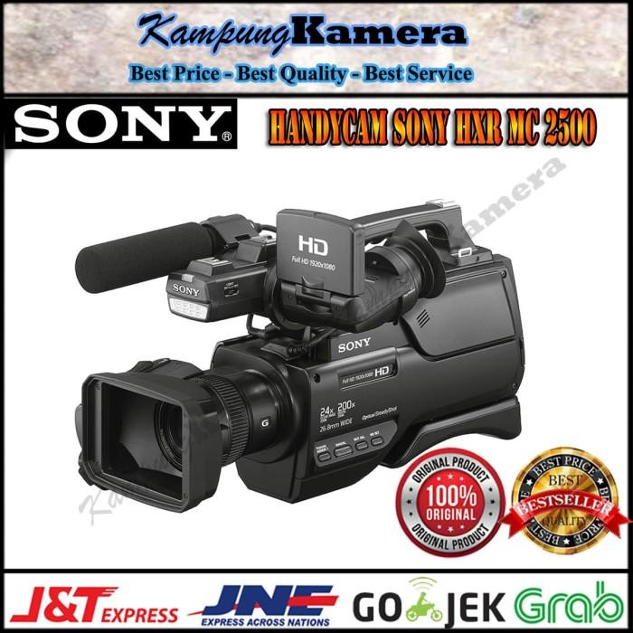 harga Handycam sony hxr mc 2500 garansi resmi Tokopedia.com