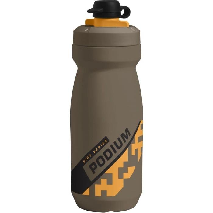Foto Produk BOTOL MINUM OLAHRAGA SEPEDA CAMELBAK PODIUM DIRT 620Ml   FREE BPA BPS - Hitam dari Sehat Itu Rejeki
