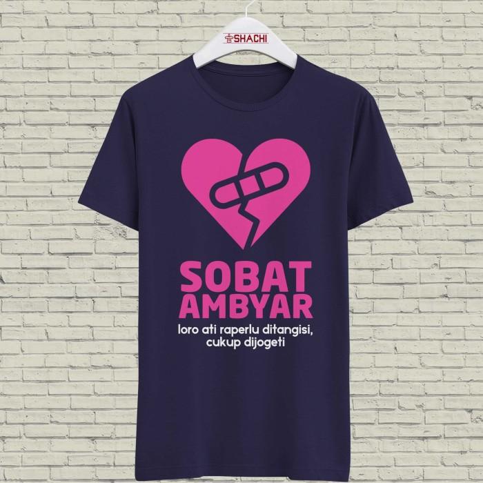 Jual Kaos Sobat Ambyar Sad Girls Club 06 Sablon Rubber S Xl