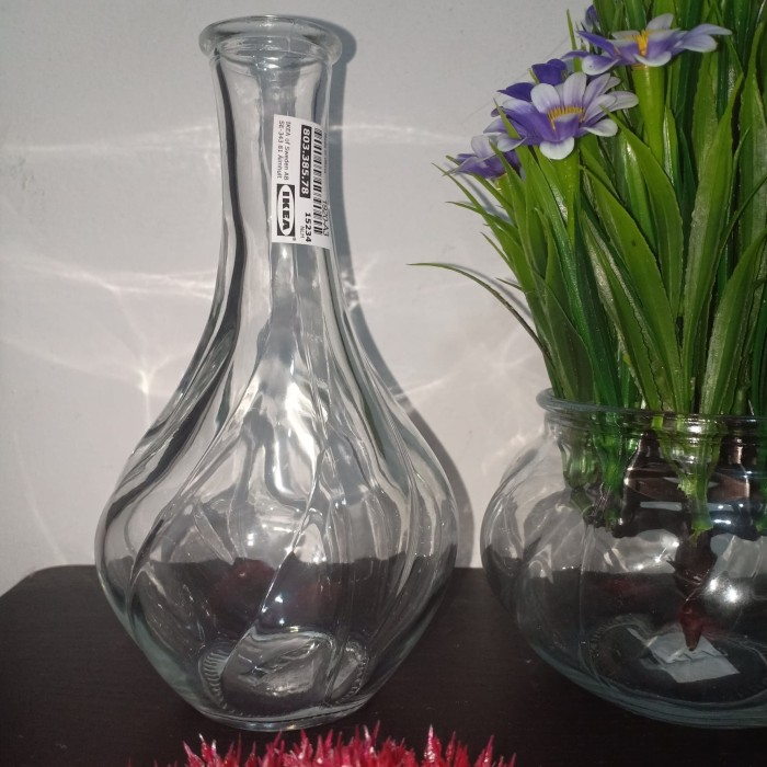 Jual Vas Bunga Kaca Vas Bunga Botol Kaca Vas Kaca Vas Botol 17 Cm Kota Depok Bella And Zona Tokopedia