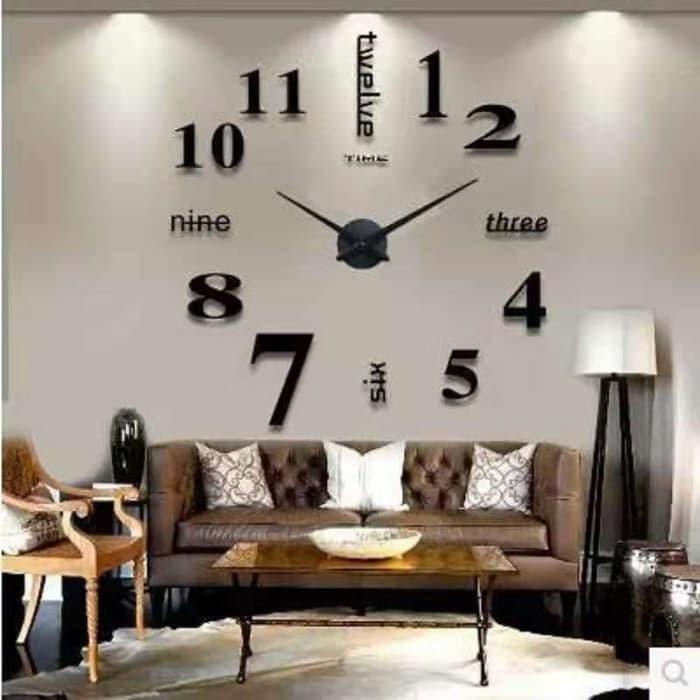 Jam Dinding Og Wallpaper Wall Clock