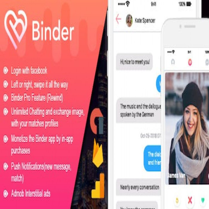 Tinder Dating Website >> Jual Aplikasi Binder Tinder Dating Clone App Kab Sleman Code Orayo Tokopedia