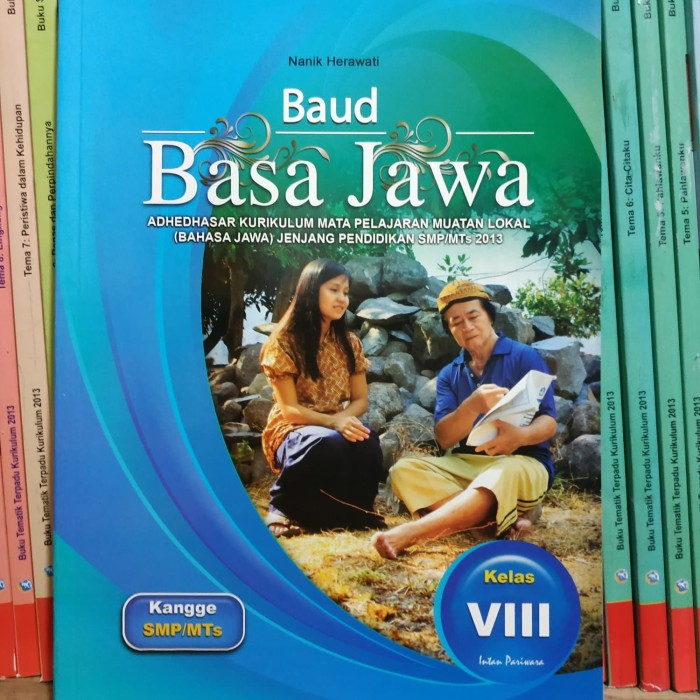 Jual Baud Basa Jawa Smp Kelas 8 Viii Intan Pariwara Kota Surakarta Ethes Bookstore Tokopedia